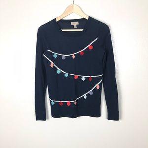 Ann Taylor LOFT | ugly Christmas sweater xs